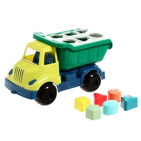 Развивающая игрушка «Грузовик» с сортером, МИКС