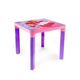 Стол детский 'Щенячий патруль' для девочки, цвет розово-фиолетовый Ош
