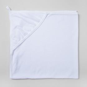 Уголок для купания, размер 80х80 см, махра, цвет белый 1209