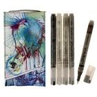 Набор ручек капиллярных  5цв Derwent Graphik Line Painter №4, 0.5 мм микс 2302233