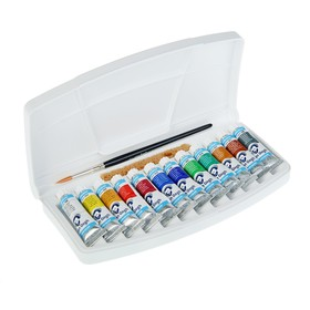 Акварель художественная набор в тубе 12 цветов, 10 мл, Royal Talens Van Gogh, в пластиковой коробке