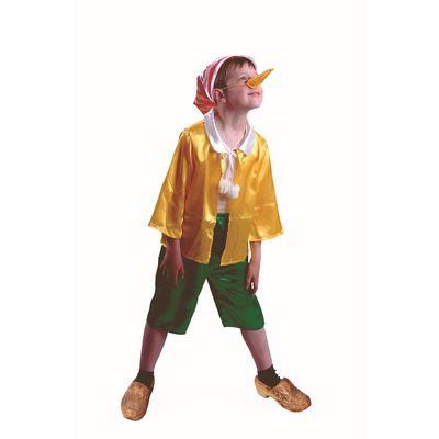 Карнвавальный костюм «Буратино», текстиль, размер 38