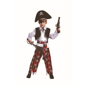 Карнавальный костюм «Пират», текстиль, размер 26