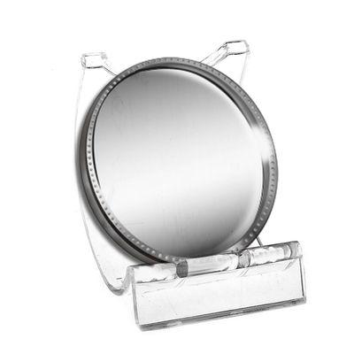 Подставка под зеркало, 4,5*4,5*4,5 см, цвет прозрачный