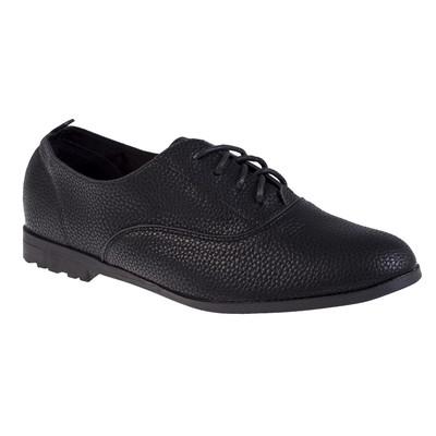Туфли женские, цвет чёрный, размер 41