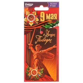Ароматизатор бумажный 9 мая 'Родина мать', лесные ягоды Ош