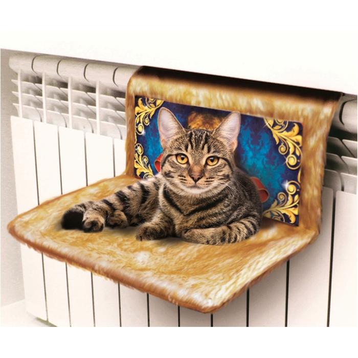 "Гамак на батарею для кошек на металлокаркасе ""Царь"""