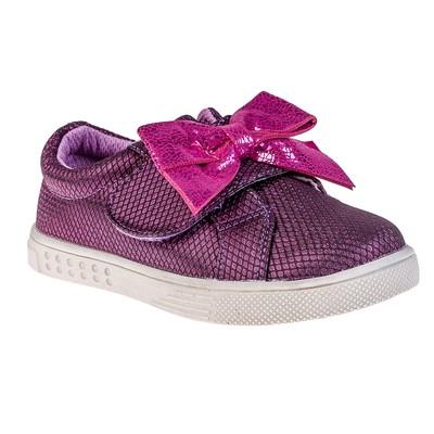 Полуботинки детские арт. 8267, цвет фиолетовый, размер 27