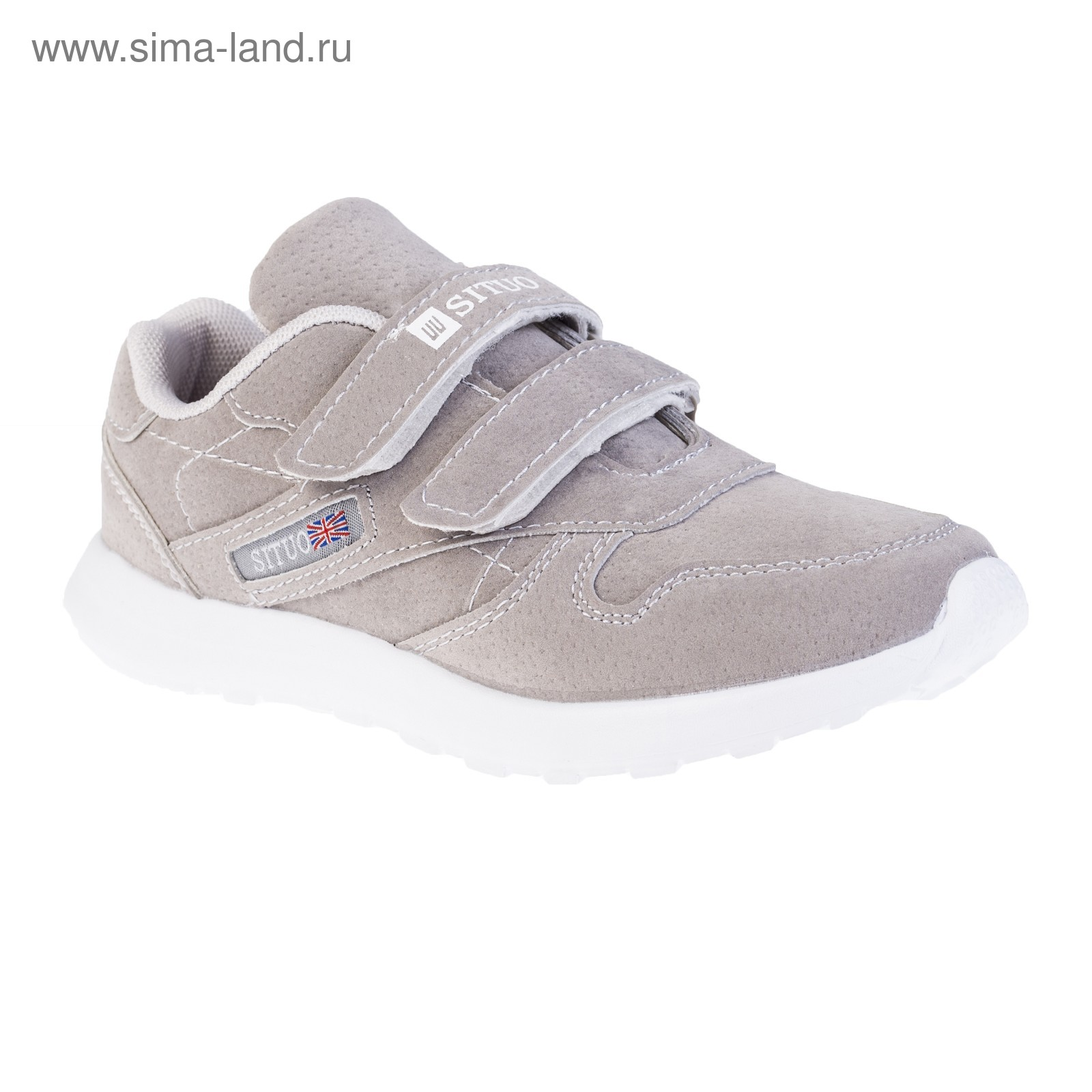 e5e6d8a8 Кроссовки детские арт. 7672-4, цвет серый, размер 34 (3360802 ...