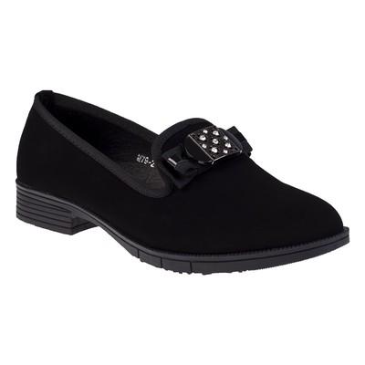 Туфли женские, цвет чёрный, размер 38