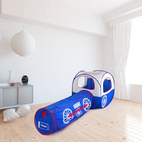 Палатка детская игровая «Волшебный поезд», сквозной туннель