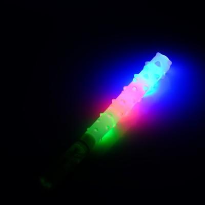 """Дубинка световая """"Палица"""", световые эффекты, работает от батареек, цвета МИКС"""