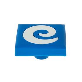 Ручка кнопка детская KID 027, 'Буква Е', резиновая Ош