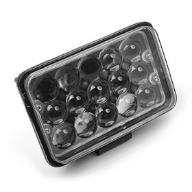 Противотуманная фара, 12 В, 15 LED, IP67, 6000 К, направленный свет