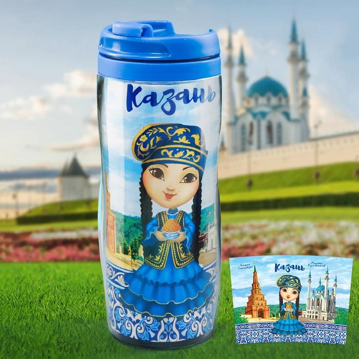 Термостакан «Казань. Татарочка», 350 мл