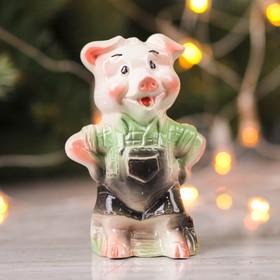 Сувенир 'Свинка Мастер', 11 см микс Ош