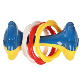 Игрушка-погремушка «Гантелька»
