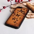 """Чехол для телефона, на iPhone 6, """"Бабочки"""", цвет жёлтый"""