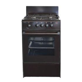 Плита газовая Darina S GM 441 001 B, 4 конфорки, 43 л, газовая духовка, черный