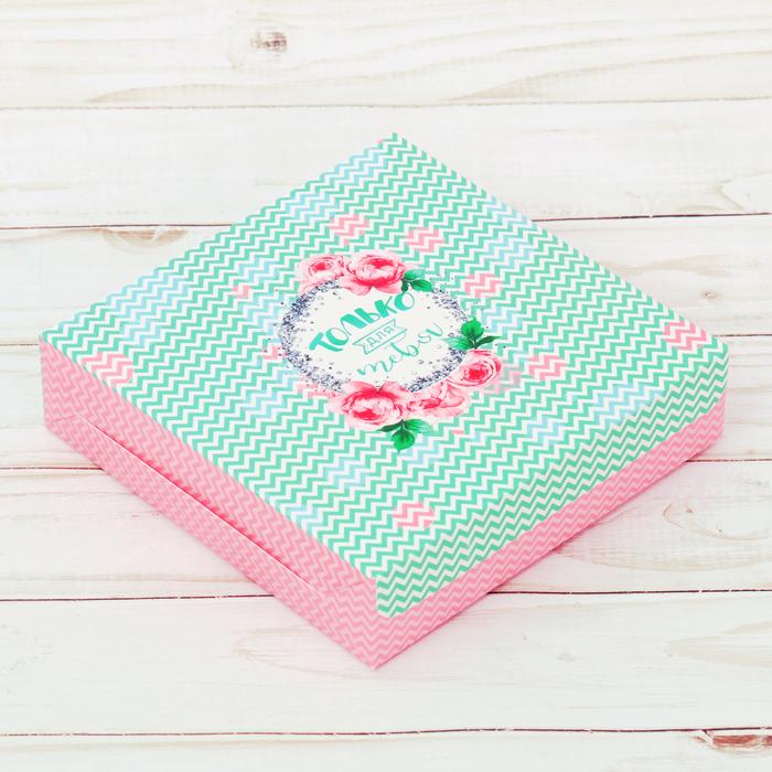 Упаковка для кондитерских изделий «Самой», 25 × 25 × 4.5 см