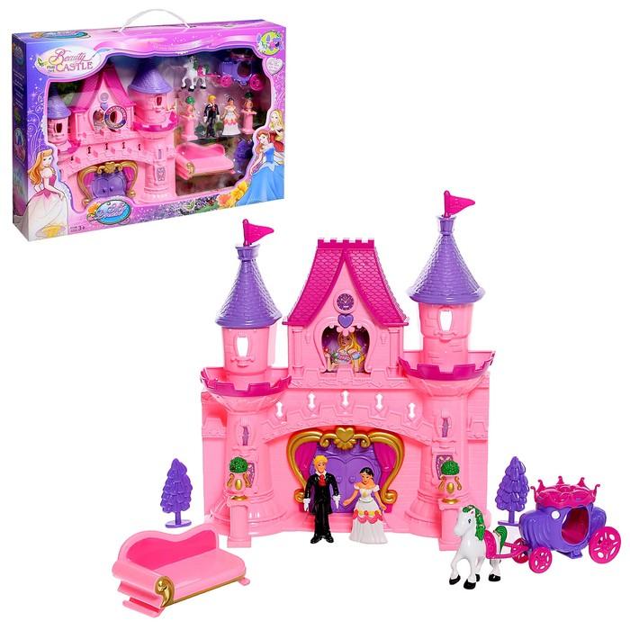 Замок для кукол «Мечта» с аксессуарами, световые и звуковые эффекты