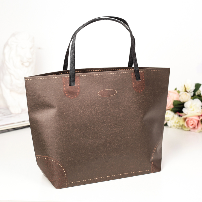Пакет Крафт сумка 35 х 24 х 10 см
