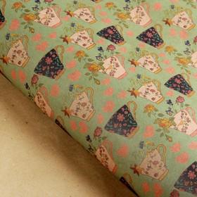 Бумага упаковочная крафт 'Раздолье', 70 х 100 см, Ош
