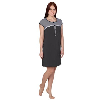 Сорочка женская Круиз цвет тёмно-синий, р-р 44