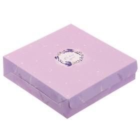 Упаковка для кондитерских изделий «От всей души», 25 × 25 × 4.5 см