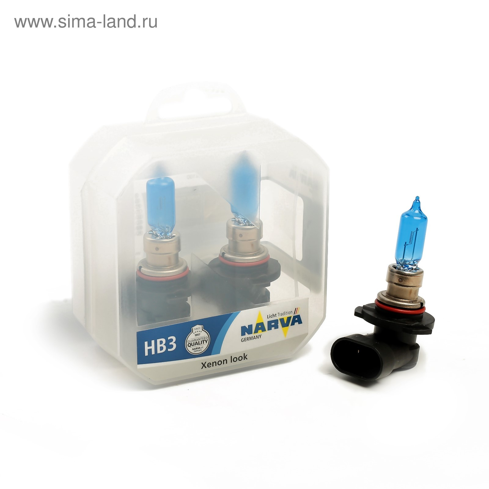Автолампа NARVA RANGE POWER WHITE, HB3, 12 В, 65 Вт, 48625