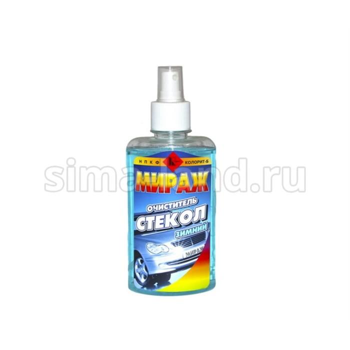 """Очиститель стекол """"Мираж"""" зимний, 250 мл"""