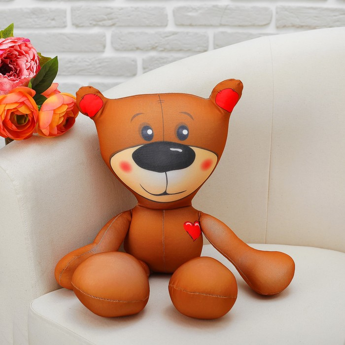 "Мягкая игрушка-антистресс ""Медведь Тедди"" 02"