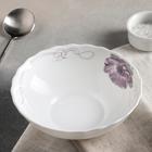 "Тарелка суповая 600 мл ""Сиреневое блаженство"",18х5 см"
