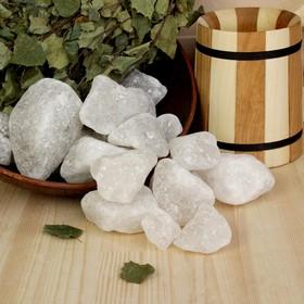 Персидская белоснежная соль 'Добропаровъ', галька, 50-120мм, 2 кг Ош