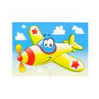 """Пазлы магнитные А6 """"Самолет"""" 3367"""
