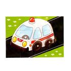 Пазлы магнитные А5 «Машина скорой помощи»