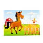 Пазлы магнитные А4 «Лошадка»