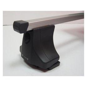 Багажник серии Эконом на ВАЗ Приора, крепление в штатные места, опора на крышу, тип дуги: 20х30, сталь, L= 1100