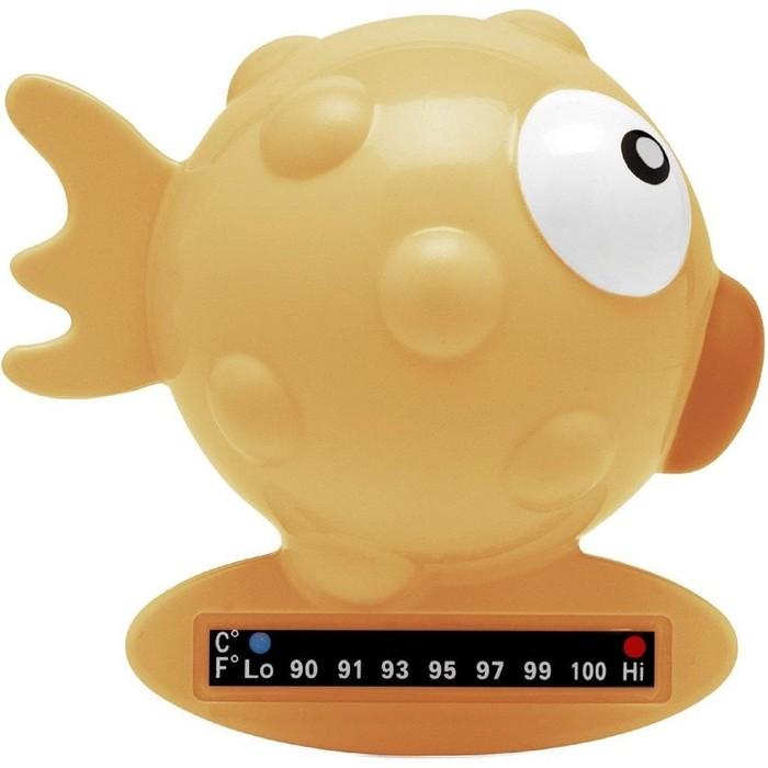 """Термометр для ванны """"Рыба-Шар"""", цвет жёлтый, от 0 мес."""