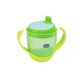 Чашка-поильник трансформер 3в1 «Непроливайка», 180мл, от 12мес., цвет зелёный