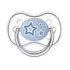 Пустышка силиконовая круглая Newborn baby, от 0 до 6 мес., цвет МИКС