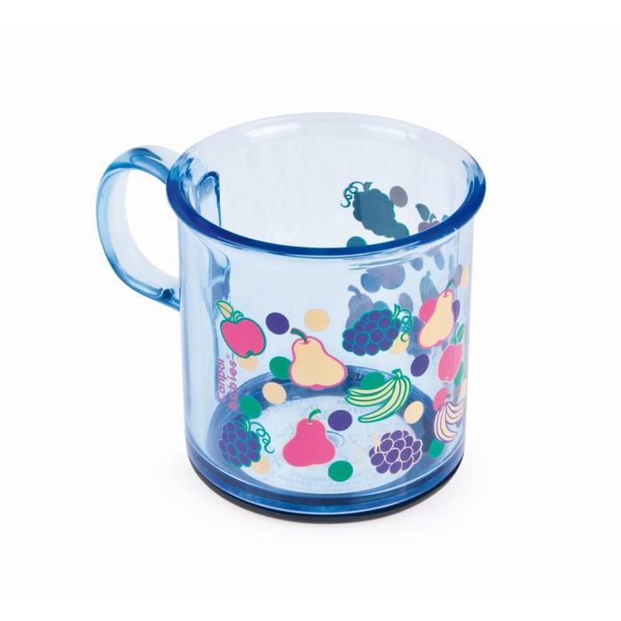 Чашка детская с антискользящим дном, 170 мл, от 12 мес., цвета МИКС