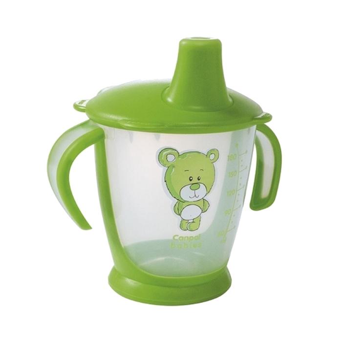 "Чашка-непроливайка ""Медвежонок"", 180 мл, от 9 мес., цвета МИКС"