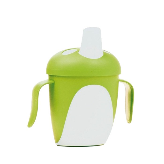 Чашка-непроливайка Penguins, 240 мл, от 9 мес., цвета МИКС