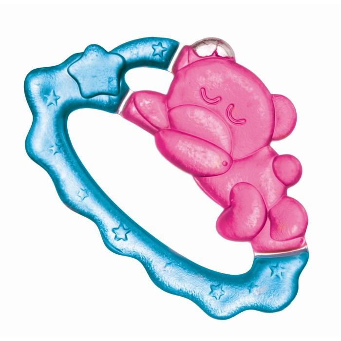 """Прорезыватель водный охлаждающий """"Спящий медвежонок"""", возраст 0+, цвет МИКС"""