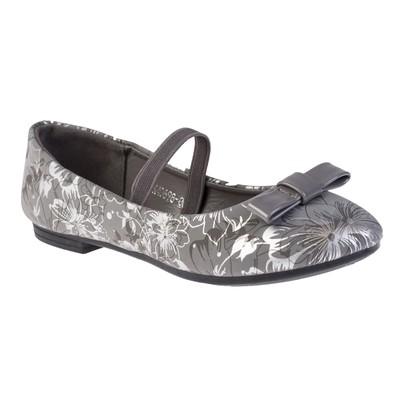 Балетки для девочки арт. BLK40698-06, цвет серый, размер 34