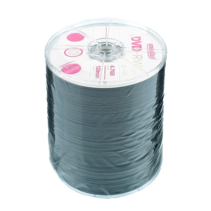 Диск DVD-R Smartbuy, 4х, 4,7 Гб, Спайка, 100 шт
