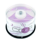 Диск CD-R SmartTrack, 52x, 700 Мб, Cake Box, 50 шт