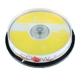 Диск CD-RW SmartTrack, 4-12x, 700 Мб, Cake Box, 10 шт Ош