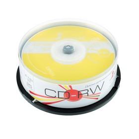 Диск CD-RW SmartTrack, 4-12x, 700 Мб, Cake Box, 25 шт Ош